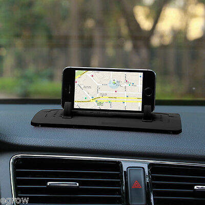 Universal In Car Phone Mount Holder Stand Cradle For Mobile Phone iPhone 6s GPS
