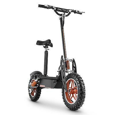 Electro Scooter Patinete electrico 1000W 32km/h Ciclomotor plegable frenos disco