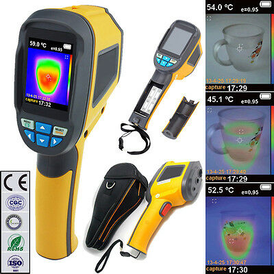 Professional Handheld Thermal Imaging Camera Imager Infrared IR Thermometer