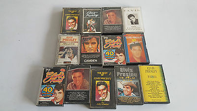 Lotto 13 Musicassette Mc Elvis Presley