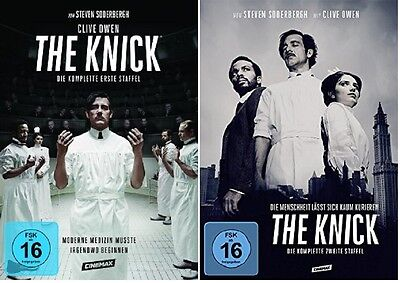 The Knick - Season/Staffel 1+2 * NEU OVP * DVD Set