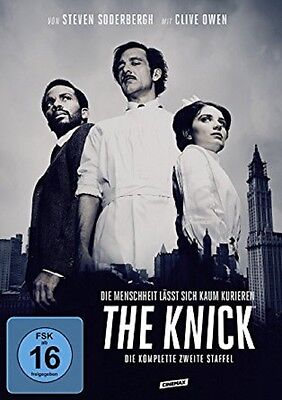The Knick - Season/Staffel 2 * NEU OVP * 4 DVDs