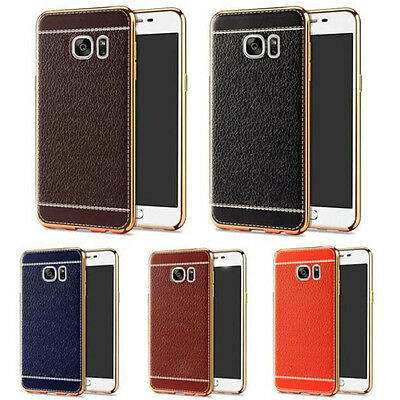 Luxury Ultra-thin PU Leather Back Case Cover For Samsung Galaxy Note7 S7 EDGE