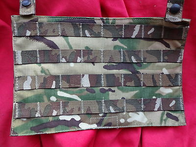 British Army Osprey MK4 / 4A Ops Panel - MTP - Used Super Grade 1 - MOLLE