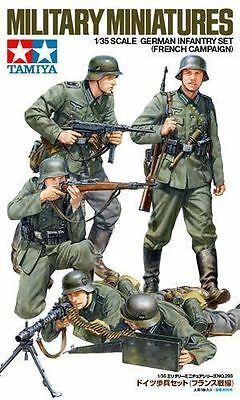Tamiya Model Kit- German Infantry Set - French Campaign Soliders - 1:35 - 35293