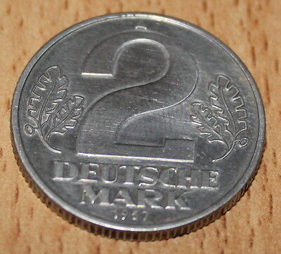 DDR 2 Deutsche Mark 1957