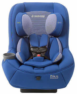 Maxi-Cosi Pria 70 Convertible Car Seat Child Safety w/ Air Protect Blue Base NEW