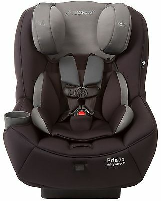 Maxi-Cosi Pria 70 Convertible Child Safety Car Seat w/ Air Protect Total Black