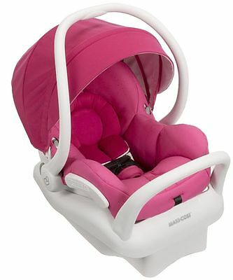 Maxi-Cosi Mico Max 30 White Air Protect Infant Baby Car Seat Pink Berry NEW