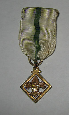 Boy Scouts of America BSA Vintage Den Leader Training Award Medal Robbins