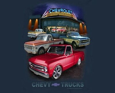 Men's Chevrolet Truck T-Shirt Chevy Trucks Chevy Bowtie S-Xl24.99+2Xl,3Xl New