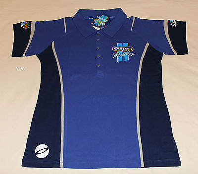 Ford Performance Racing FPR Orrcon Ladies Blue Embroidered Polo Shirt Size 16