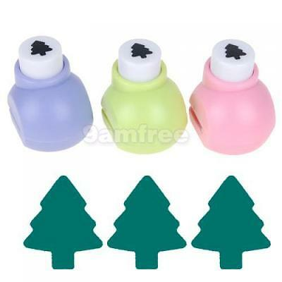 CHRISTMAS Fir Tree Paper Punch Shaper Card making Scrapbooking Craft kid toy 1cm