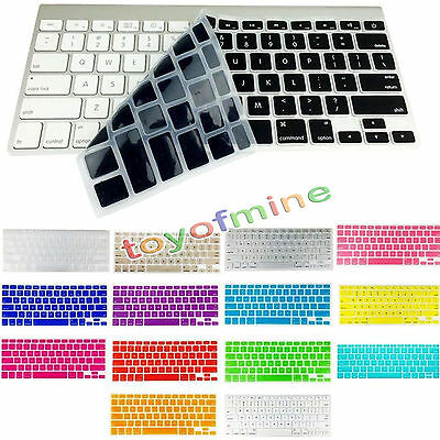 "Silicone Keyboard Cover Skin for Apple Macbook Air Pro Retina 11"" 13"" 15"" 17"" US"