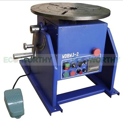 New 200KG 440 lbs Light Duty Welding Positioner Turntable Ф400mm AC220V  50/60HZ