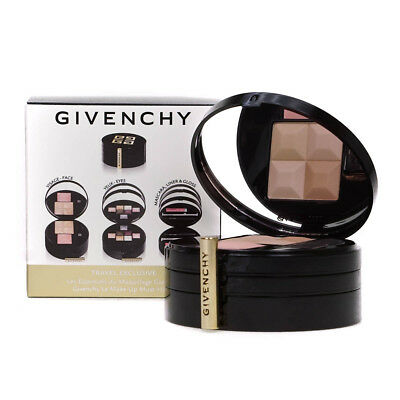 Givenchy Glamour On The Go 3 Step Makeup Palette Powder Blusher Eyeshadow Gloss