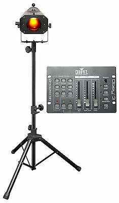 Chauvet DJ LED Followspot 75ST DMX/Manual 7-Color Focused Light + Controller