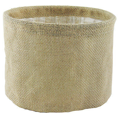 Syndicate Sales Inc 7784-24-9186 7-Inches Round Burlap With Sewn In Liner