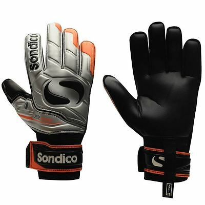 Sondico Mens EliteProtect Goalkeeper Gloves Football Training Sports Accessories