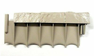 "NEW Suncast Border Stone Sections Resin Edging - 12"" - 10 Pack (CPLBSE10TG)"