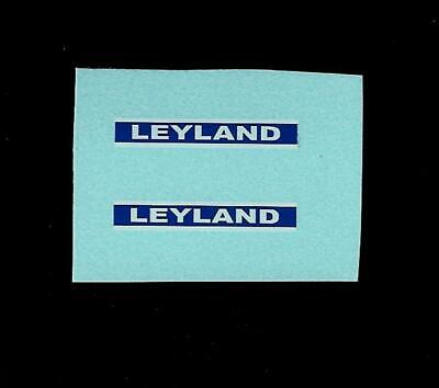 DINKY No 308 LEYLAND 384 TRACTOR TRANSFERS/DECALS