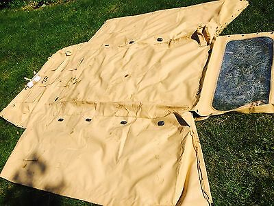 NEW Unused Land Rover 110 WOLF Military Sand  Hood Soft Top Cover Canopy  Ex MOD