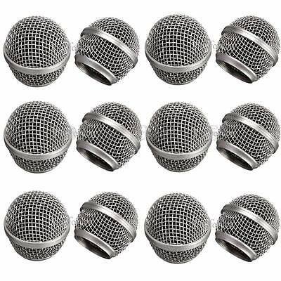 Replacement Head Mesh Microphone Grille for Shure SM58 Beta58/Beta58a Metal BA