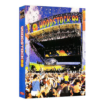 Woodstock 99 DVD - Metallica , Chemical Brothers, Sheryl Crow (*New )