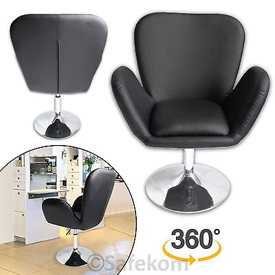 Faux Leather Style Beauty Salon Massage Barber Hairdressing Stool Chair Seat New