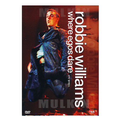 Robbie Williams - where egos dare DVD (*New *Sealed *All Region)