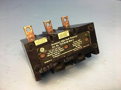 GE General Electric TEDL36100 100A High Fault Protector Breaker Mod 2 100 Amp