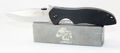 Kershaw Emerson CQC-6K Black G10 Handle Clip Point Blade Knife w Wave 6034