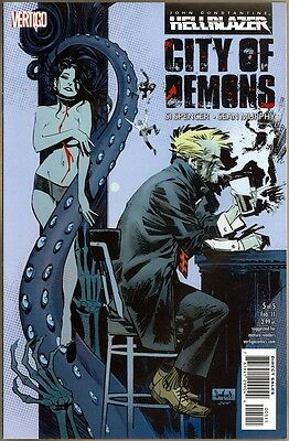Hellblazer: City Of Demons #5 - VF/NM