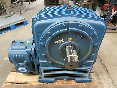 NEW Cone Drive UU50-100-A5 Ratio: 600:1 RPM:1750 Rating: 6.12 Gear Drive Textron