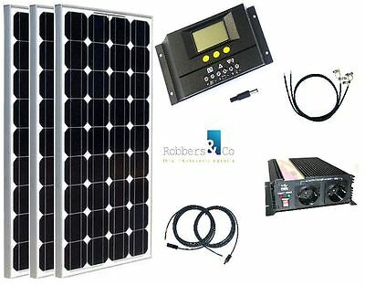 solarmodul wohnmobil solaranlage 12 volt set 200 watt 30 ampere laderegler eur 388 00. Black Bedroom Furniture Sets. Home Design Ideas
