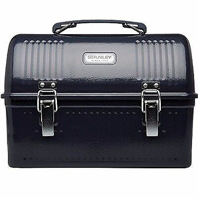 Stanley Classic Lunch Box Hammer Tone Navy 10 - Large Capacity Lunch Box