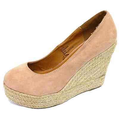 12x Ladies Womens Pink High Heel Wedge Court Shoes Wholesale Job Lot Clearance