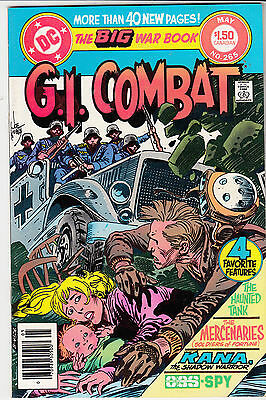 G.I. COMBAT #265 (May 1984) * Haunted Tank * CANADIAN PRICE ONLY VARIANT*