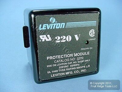 Leviton 220/380V Surge Supp. Panel Replacement TVSS Module 2220 for 52220-IM3