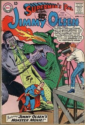 Superman's Pal, Jimmy Olsen #84 - G/VG