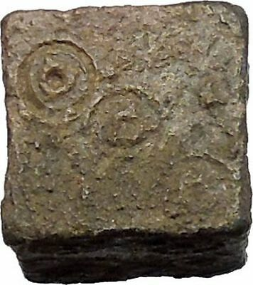 Ancient Roman One Lead Gambling Die for Dice Chance Games circa 100-200AD i49318