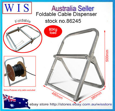 Wire Reel Caddy | Telstra Nbn Cable Holder Stand Rg6 Rg11 Wire Cable Reel Caddy