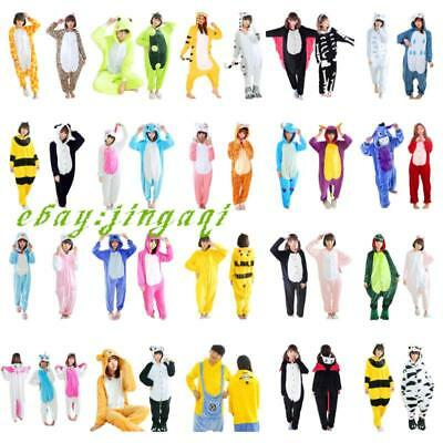 SALE Unisex Adult Pajamas Kigurumi Cosplay Costume Animal Onesie Sleepwear Suit