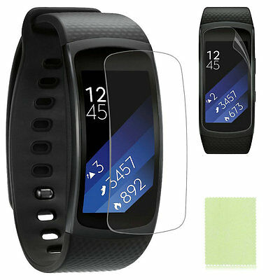 Clear Screen Protector Film for Samsung Gear Fit2 Smart Bracelet Band Wristband