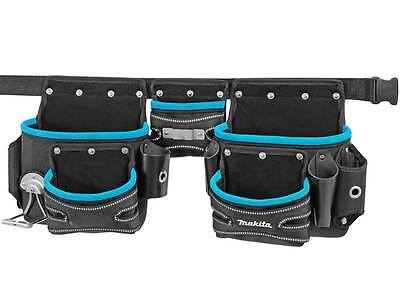 Makita  P-71772 3 Pouch Belt Set Blue P71772