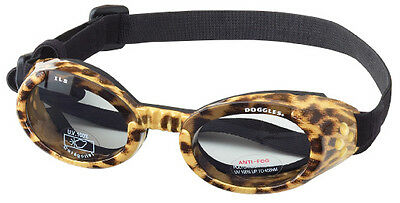 SUNGLASSES FOR DOGS by Doggles - LEOPARD FRAME - LARGE
