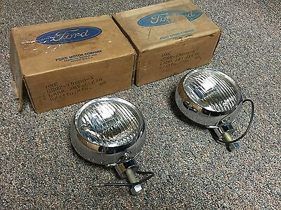 Nos 65-68 Ford / Mercury / Lincoln Fog Lights C5Rz-15200-A Mustang Truck Bronco