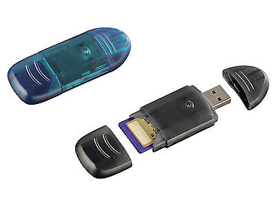 Lettore Schede Card Reader USB 2.0 per schede Secure Digital SD/SDHC
