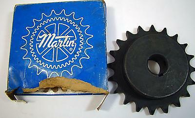 Martin Bored to Size Roller Chain Sprocket  60BS20 1 NOS