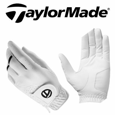 "TaylorMade Golf All Weather Leather Palm Mens Performance Golf Glove ""NEW 2017"""